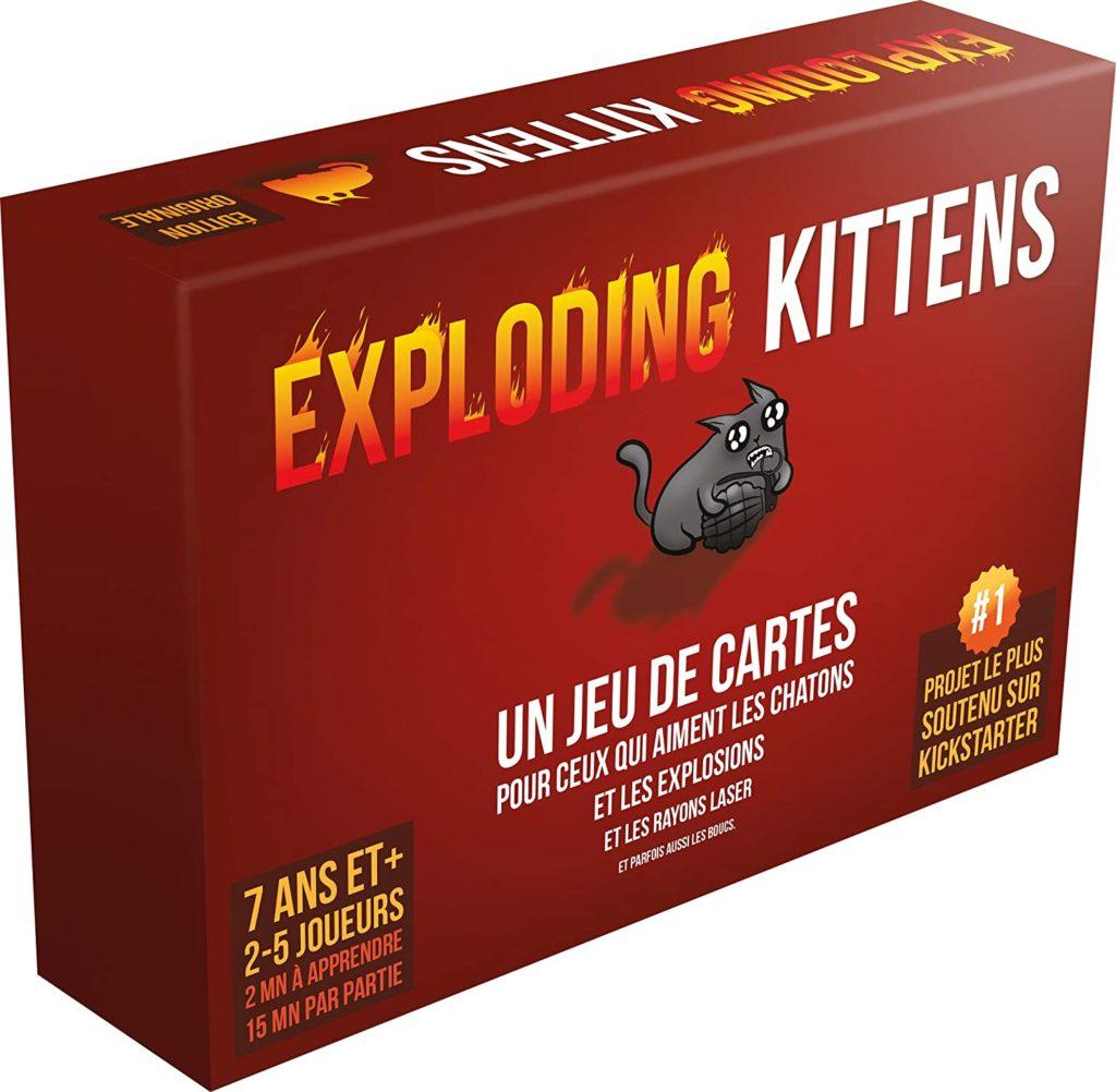 Exploding Kittens modèle tout public