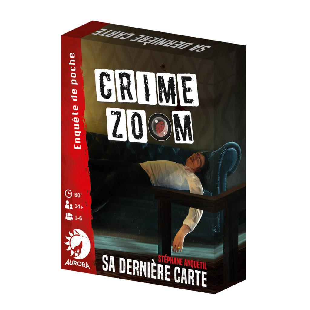 Jeux crime zoom - 1 - Sa dernière carte