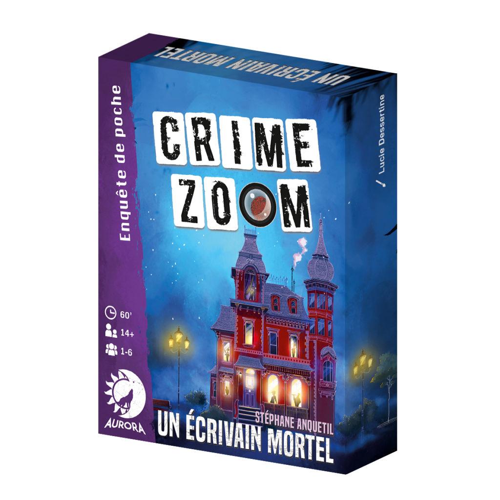Jeux crime zoom - 3 - Un écrivain mortel